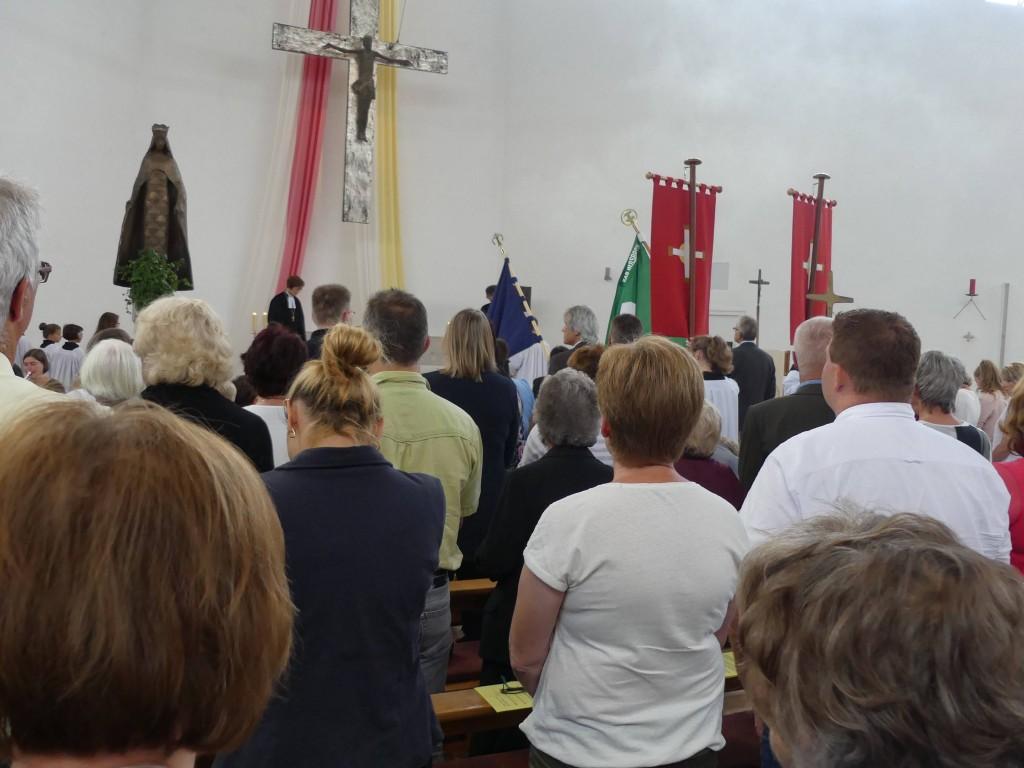 fanden eine große ökumenische Gemeinde