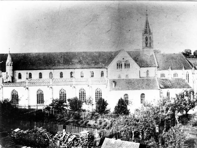 1904 - Blick aufs Münster, noch ohne Kindergarten