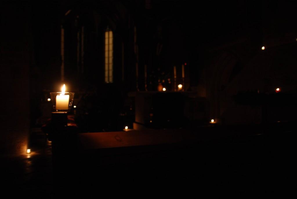 Von einer Lichternacht im Münster 1