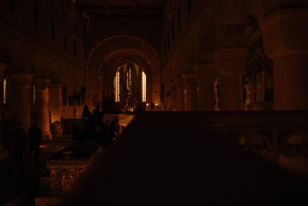 Münsterüberblick im Kerzenlicht