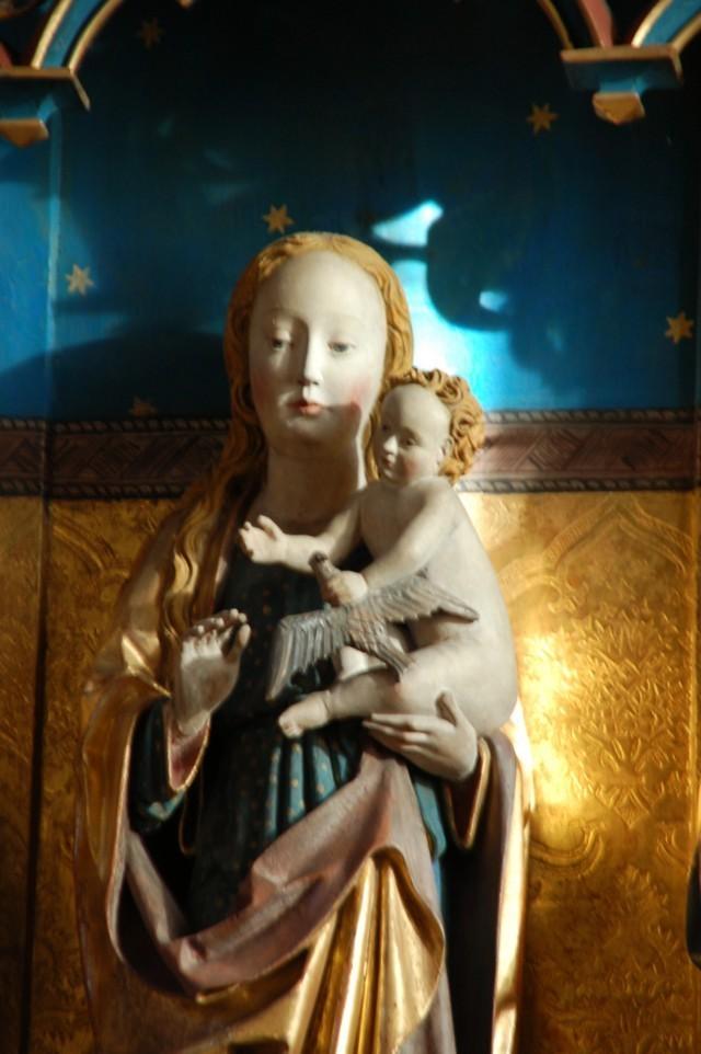 Maria im Licht