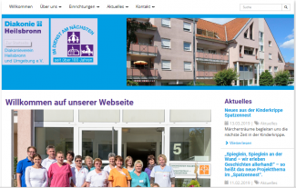 Diakonieverein Homepage